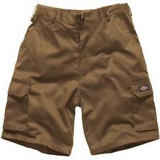 Mens DICKIES  Redhawk CARGO WORK SHORTS  Black Navy Khaki WD834 Sizes 30 - 44