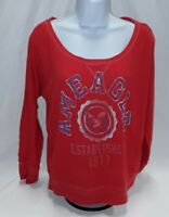 Women's Medium Red American Eagle Knit Top
