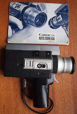 Canon 518 Auto Zoom super 8 camera Battery Tested / Fully Working