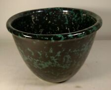 Bennington Pottery Green Agate Mixing Bowl 1877 NR