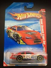 HOT WHEELS 2010 1/04 Race World  SPEEDWAY Dodge Charger Stock Car Red #68