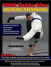 Sutton Mma Bubba Grappling Man Dummy Training Dvd jiu jitsu judo wrestling