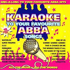 CD musicali pop rock per Karaoke ABBA