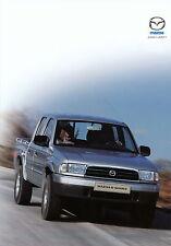Prospekt Mazda B-Serie 1.2.02 2002 brochure Pick up Autoprospekt Auto Pkw