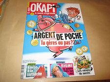 okapi 990..argent de poche .