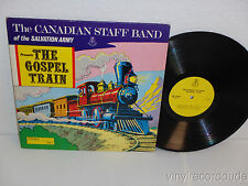 CANADIAN STAFF BAND OF THE SALVATION ARMY Gospel Train LP CB2 Norman Bearcroft