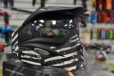 VForce Grill Dual Pane Thermal Anti-Fog Paintball Mask Goggle- Zebra ***RARE***