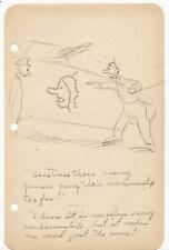 Carl Barks Vintage Original Comic Book One Panel Strip Art WW2 Axis Marksmanship