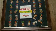 Memorabilia 94 World Cup USA, Collector Pin Set, Coca-Cola 1994 Vintage, Soccer