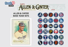 2020 Topps Allen & Ginter Team Set Base St Louis Cardinals (12) Flaherty McGwire