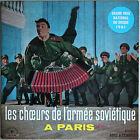 LES CHOEURS DE L'ARMEE SOVIETIQUE A PARIS 33T LP