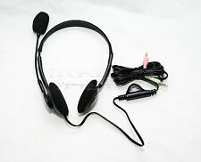 Comfortable 3.5mm Headphone Headset With Microphone MIC For Computer PC Laptop