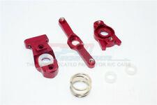 TRAXXAS Mini E-Revo-ALLOY STEERING ASSEMBLY - 3PCS SET - RED