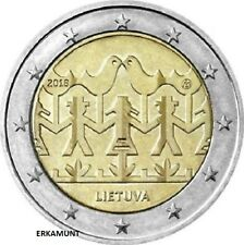 2 Euro Gedenkmünze 2018 Litauen Gesang- und Tanzfestival  VVK !