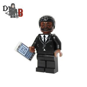 Westworld Bernard Lowe Minifigure. Made using LEGO parts with custom print.