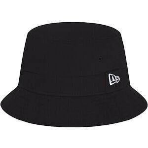 New Era Essential Retro Classic Festival Summer Bucket Hat - Black
