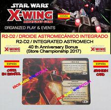 STAR WARS X-WING R2-D2 DROÏDE Astromech Intégré R2-D2 astromech intégré