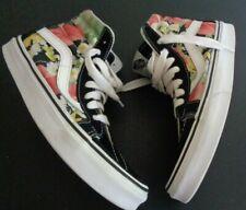VANS Sk8 Skate HI Suede Canvas Floral High Top Shoes Sneakers Womens 7 Mens 5.5