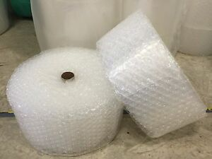 """ZV 1/2"""" x 12"""" x 500' 500FT Large Clear Bubble Padding Cushioning Wrap Roll"""