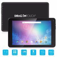 "Dragon Touch V10 10"" GPS Tablet PC Android 7.0 Quad Core 1GB+16GB Wifi Refurbish"