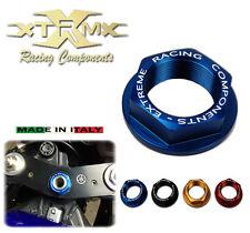 Dado canotto ergal, Yoke Stem Nut, EXTREME, Suzuki GSXR 1000 (03-14) Blu, DC01