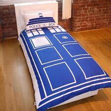 Doctor Dr Who Tardis Singolo Copripiumino Federa Ufficiale Biancheria da letto Gratis P + P