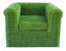 Artificial Grass Armchair