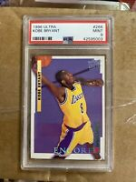 1996-97 Fleer Ultra Kobe Bryant Rookie Rc #266 PSA 9