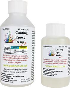 150g Epoxy Resin Starter Kit Clear Art Low Viscosity Fast Cure