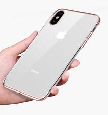 iPhone X Handy Hülle Cover Premium Schutz Hülle Silikon Schale Case Panzerglas