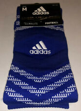Adidas Speed Mesh Crew Socks 1 Pair Men6.5-9 Women7-10 BlueWhite Football Soccer