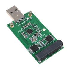 1Pc Mini USB 3.0 to PCIE mSATA External SSD PCBA Conveter Adapter C~OJ