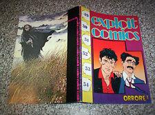 DYLAN DOG EXPLOIT COMICS ORRORE N.50 DEL 1991 OTTIMO