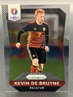 2016 Panini Prizm UEFA Euro Silver Prizms Kevin de Bruyne #23 Rookie