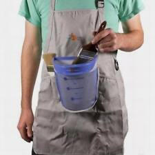 Set of 2 - Pouch Painter Aprons with No-Spill Paint Buckets