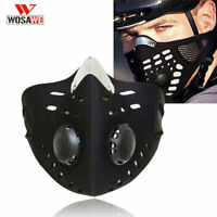Dustproof Half Face Cover with filter Air Breath Motorcycle Cycling Mouth-muffle