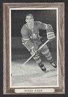 1964-67 Beehive Group III Toronto Maple Leafs Photos #153B Bob Baun/No number