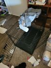 """Vibrant Life Double-Door Folding Dog Crate with Divider - Large, 42"""""""