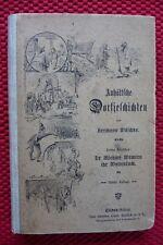 "Wäschke ""Anhältsche Dorfjeschichten"" drittes Bändchen, um 1900"
