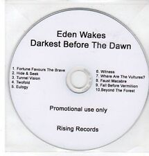 (CC859) Eden Wakes, Darkest Before The Dawn - DJ CD