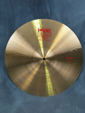 Paiste 2002 Series 20'' Classic Crash Cymbal - Excellent Demo Model