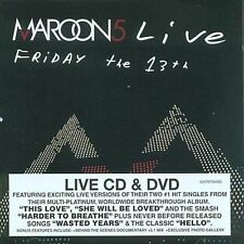 New, Sealed MAROON 5 - Live: Friday 13th DVD & CD (Concert, Record Club Version)