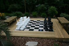 "MegaChess Giant Plastic Chess Set with a 25"" King"
