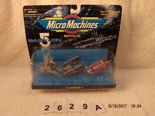 Vintage Micro Machines Babylon 5 ships #5, Galoob, 1995. New, unopened box
