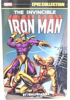 Invincible Iron Man Epic Collection By Force of Arms  Marvel Comics New TPB