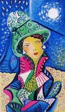 """MARIA MURGIA - """"Con tutti i fiori"""" - Serigrafia a 30 colori cm 30x20"""