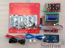 3D Printer Kit Ramps 1.4 + Mega 2560+ MK2B Heatbed + Controller Reprap Prusa i3