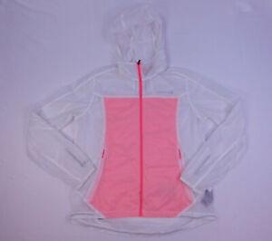 Merrell Womens Select Wind Lightweight Clear Rain Jacket Windbreaker Extra Sm