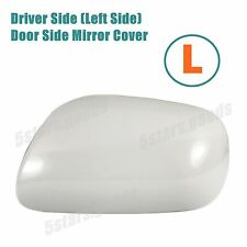 Unpaint Driver Left Side Door Mirror Cover For 2007-2011 Toyota Yaris Sedan