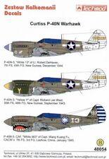 Techmod 1/48 Curtiss P-40N Warhawks # 48054